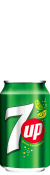 Seven up 33cl Blik