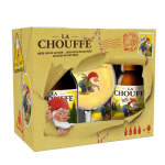 La Chouffe 4x33cl incl. Glas